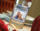 Wedding vodka label 8