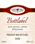 Etykieta na wino 2