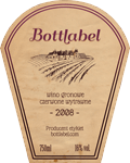Etykieta na wino 3