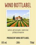Etykieta na wino 9