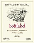 Etykieta na wino 10
