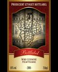 Etykieta na wino 1