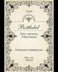 Etykieta na wino 7