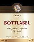Etykieta na wino 14