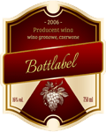 Etykieta na wino 4