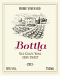 Wine label 10