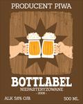Etykieta na piwo 23