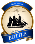 Beer label 9