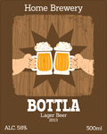 Beer label 23
