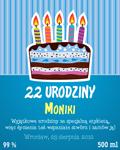 Etykieta na urodziny 4