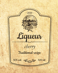 Liqueur label 39