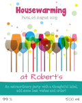 Housewarming label 19