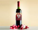 Wedding wine label 6