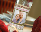 Celebration wine label 12